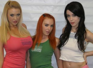 Aiden Ashley, Dani Jensen and Summer Brielle