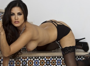 Black Lace On The Stairs