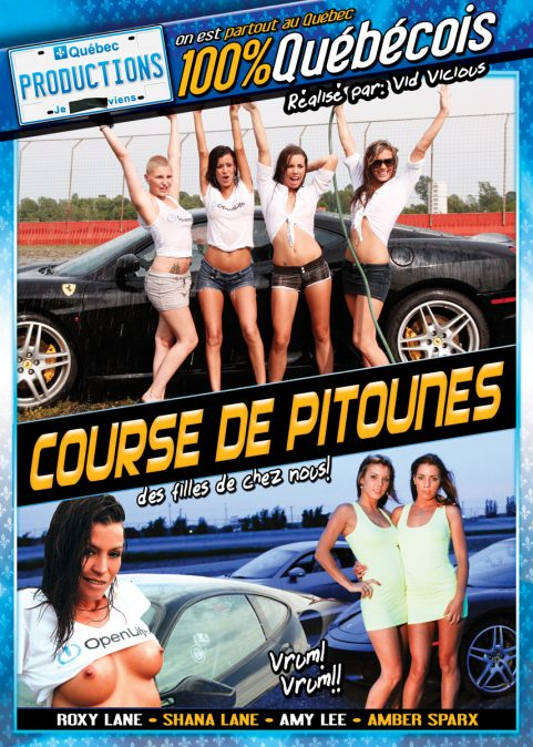 Course de Pitounes Dvd Cover