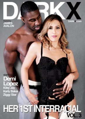 Her 1st Interracial Vol. 3 Dvd Cover