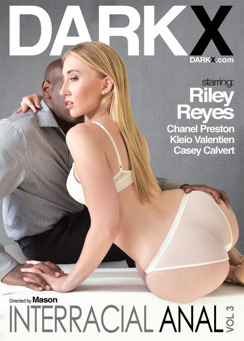 Interracial Anal Vol. 3 Dvd Cover