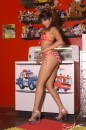 Red With White Polka Dot Bikini Toy Room picture 15