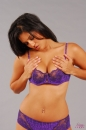 Purple Lingerie Tease picture 18