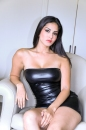 Glamour - Sunny Leone in White Lounge Chair picture 1